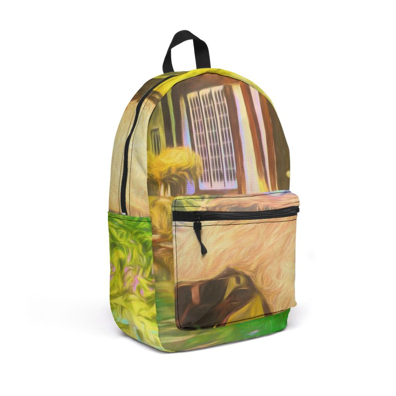 The Cottage Accessories Backpack Bag by Jasmina Seidl's Artist Shop