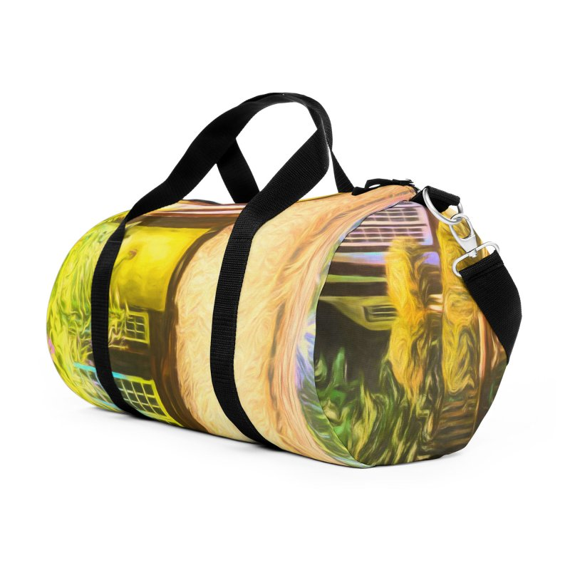 The Cottage Accessories Duffel Bag Bag by Jasmina Seidl's Artist Shop