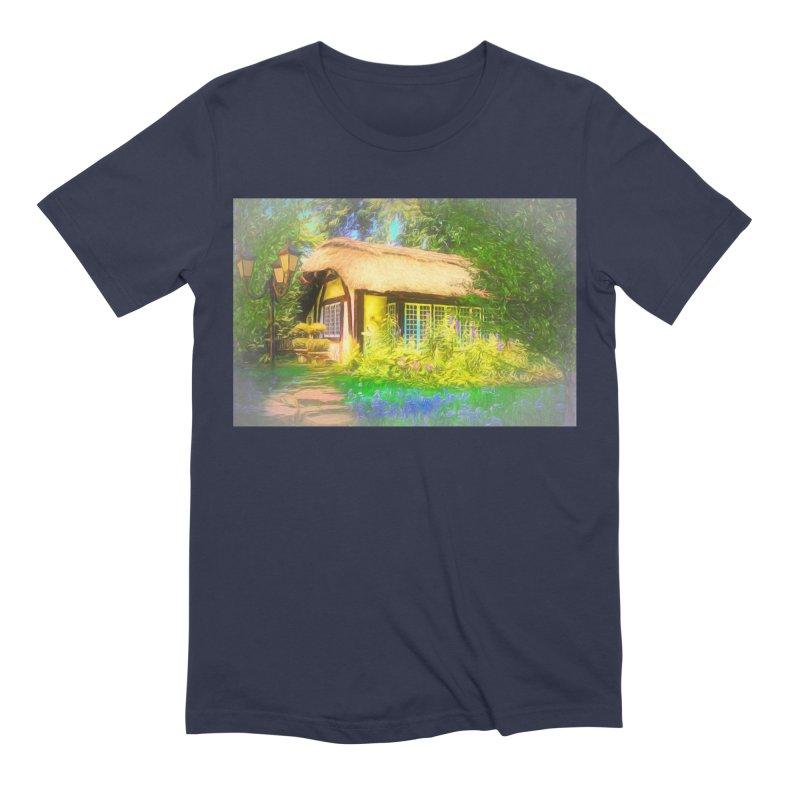 The Cottage Men's Extra Soft T-Shirt by Jasmina Seidl's Artist Shop