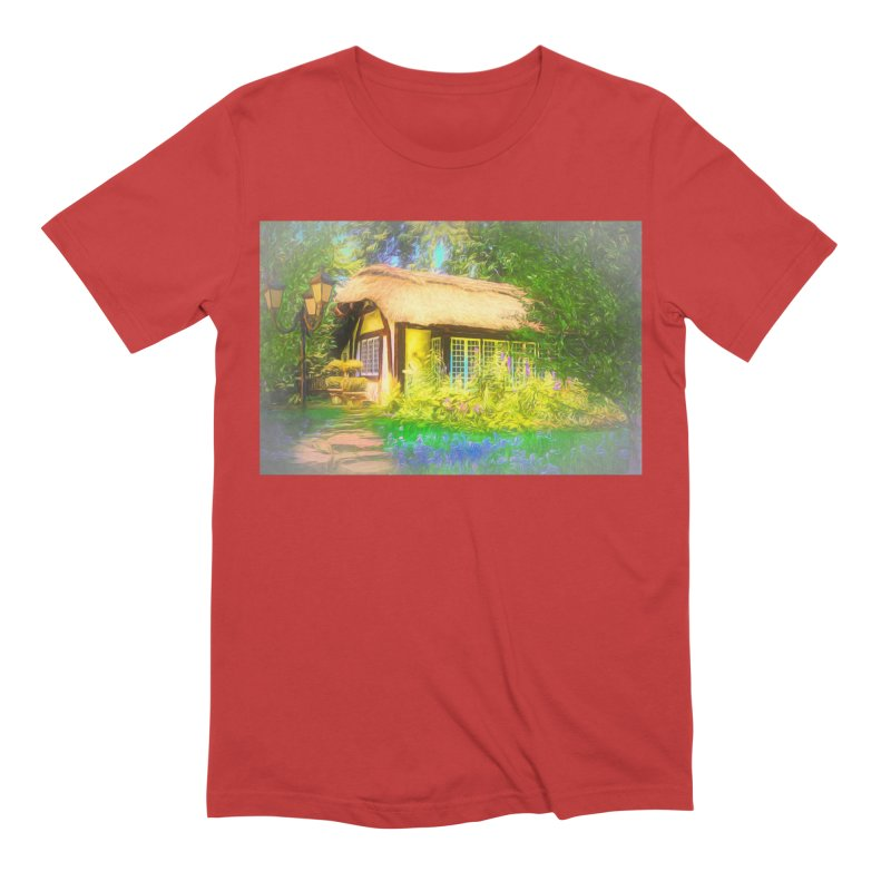 The Cottage Men's Extra Soft T-Shirt by Jasmina Seidl's Artist Shop