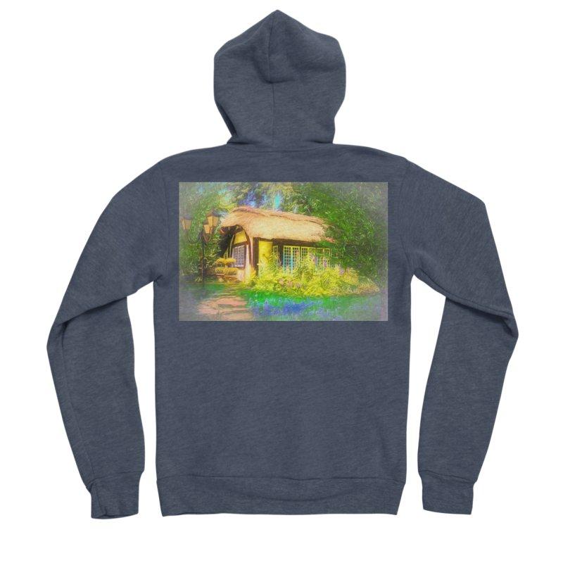 The Cottage Men's Sponge Fleece Zip-Up Hoody by Jasmina Seidl's Artist Shop