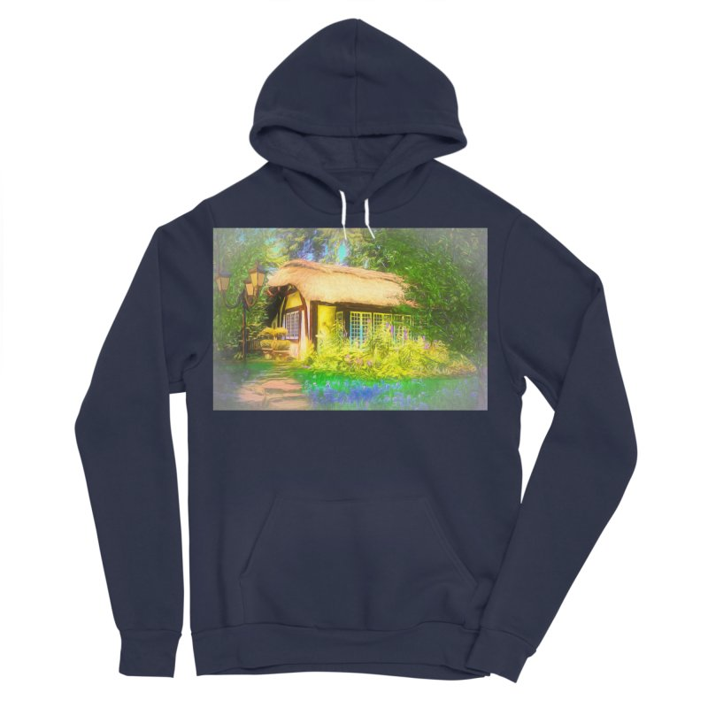 The Cottage Women's Sponge Fleece Pullover Hoody by Jasmina Seidl's Artist Shop