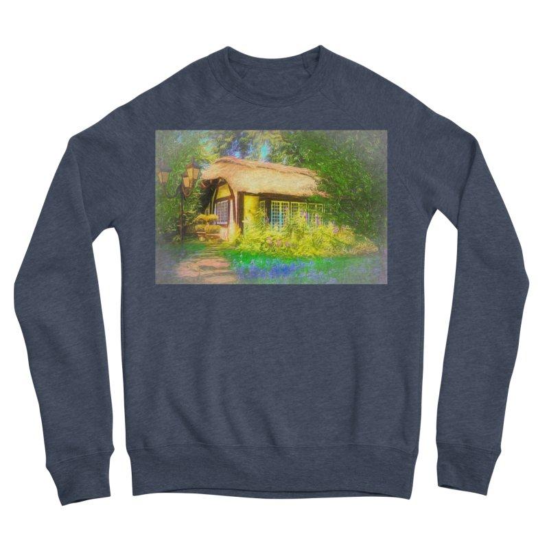 The Cottage Men's Sponge Fleece Sweatshirt by Jasmina Seidl's Artist Shop