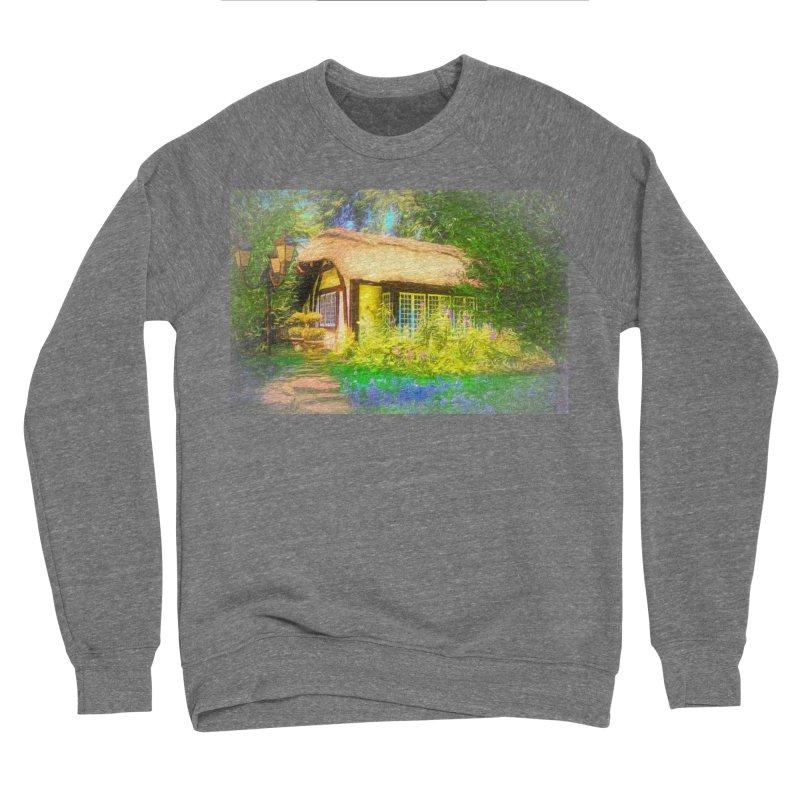 The Cottage Women's Sponge Fleece Sweatshirt by Jasmina Seidl's Artist Shop