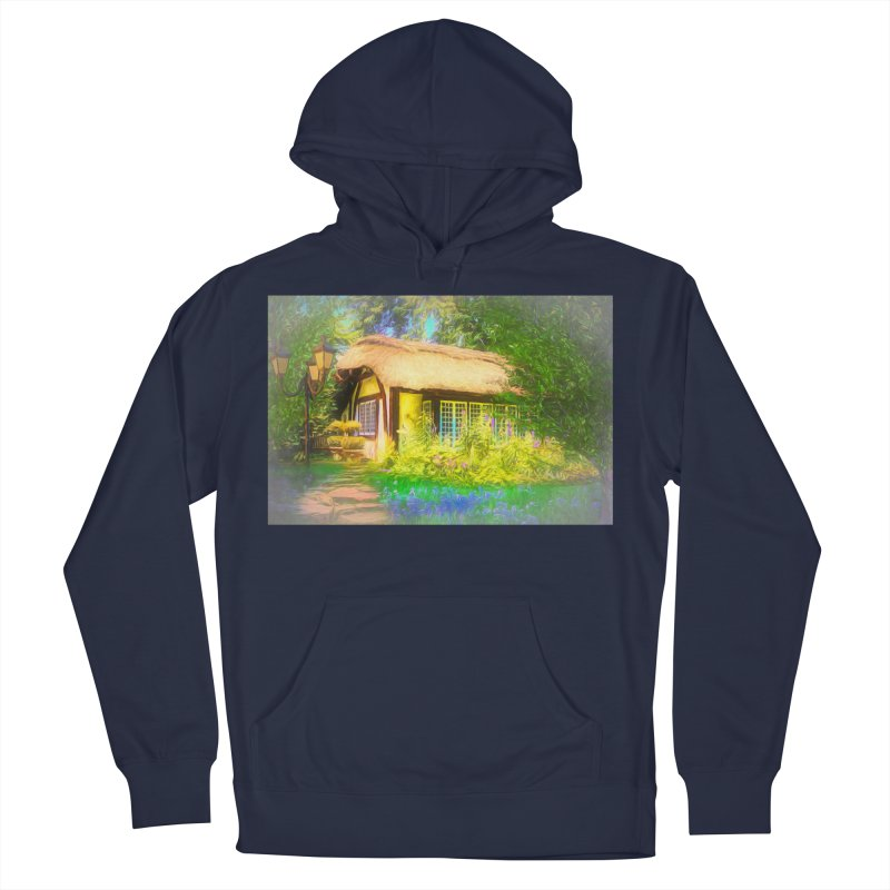 The Cottage Women's French Terry Pullover Hoody by Jasmina Seidl's Artist Shop