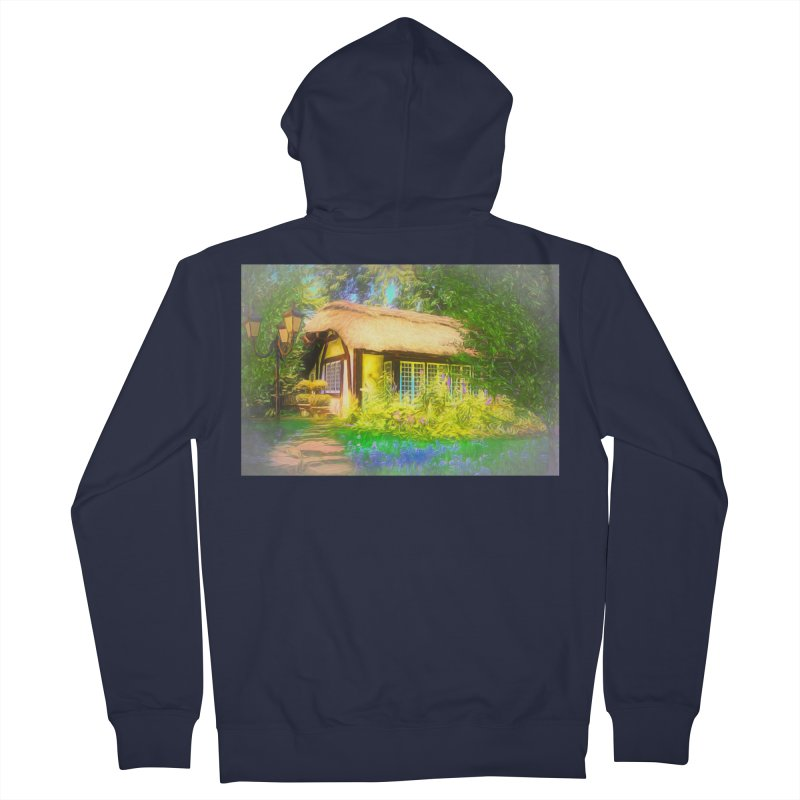 The Cottage Women's French Terry Zip-Up Hoody by Jasmina Seidl's Artist Shop
