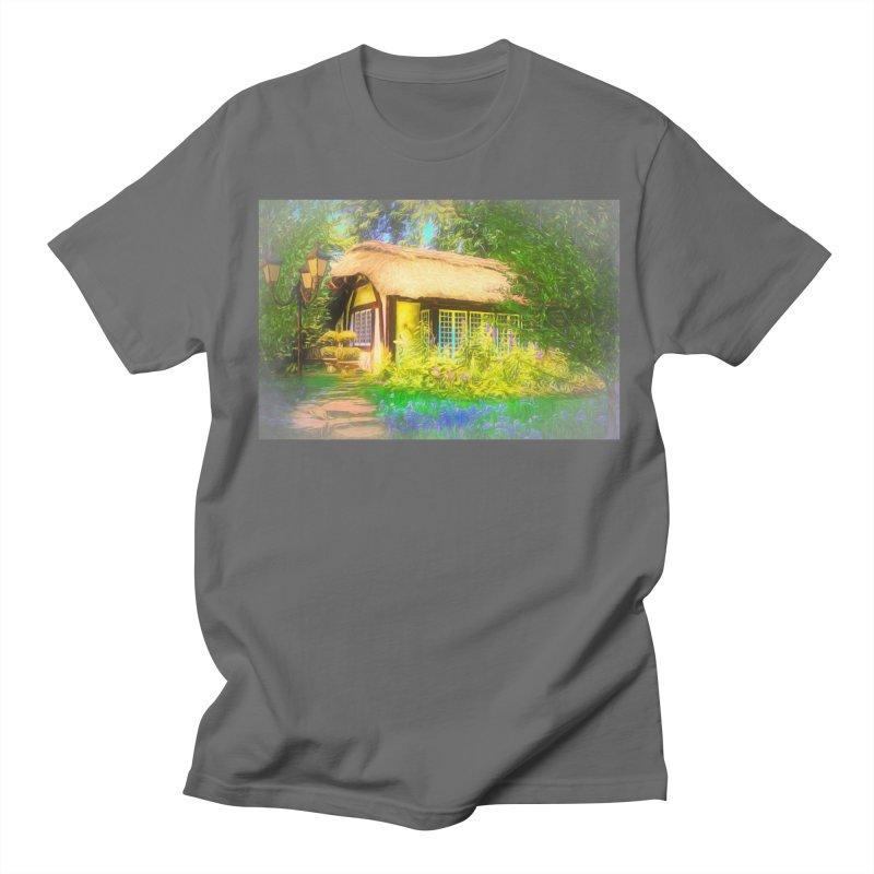 The Cottage Men's T-Shirt by Jasmina Seidl's Artist Shop