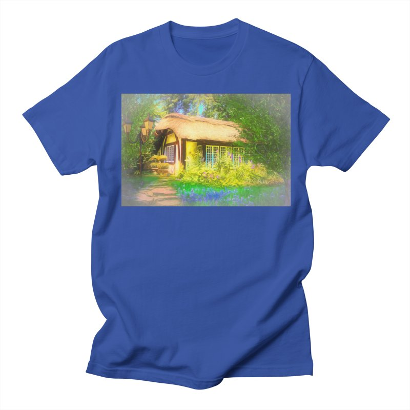 The Cottage Women's Regular Unisex T-Shirt by Jasmina Seidl's Artist Shop