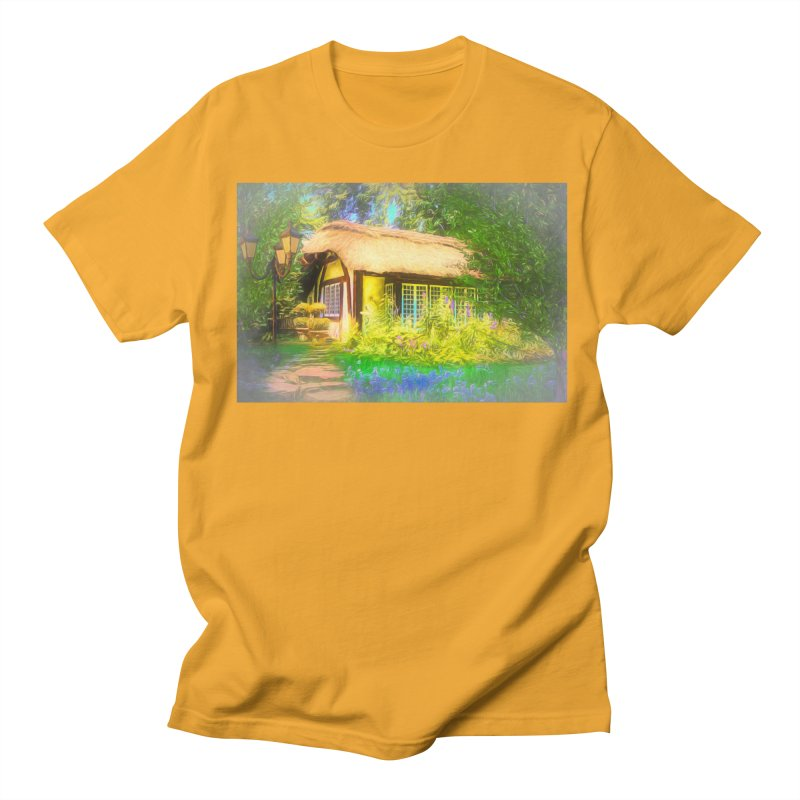 The Cottage Women's Regular Unisex T-Shirt by Jasmina Seidl's Artist Shop
