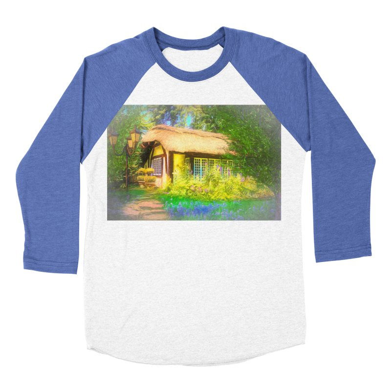 The Cottage Women's Baseball Triblend Longsleeve T-Shirt by Jasmina Seidl's Artist Shop