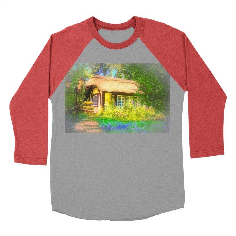 The Cottage Men's Baseball Triblend Longsleeve T-Shirt by Jasmina Seidl's Artist Shop