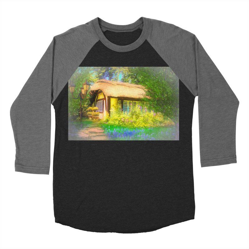 The Cottage Men's Baseball Triblend Longsleeve T-Shirt by Jasmina Seidl's Artist Shop