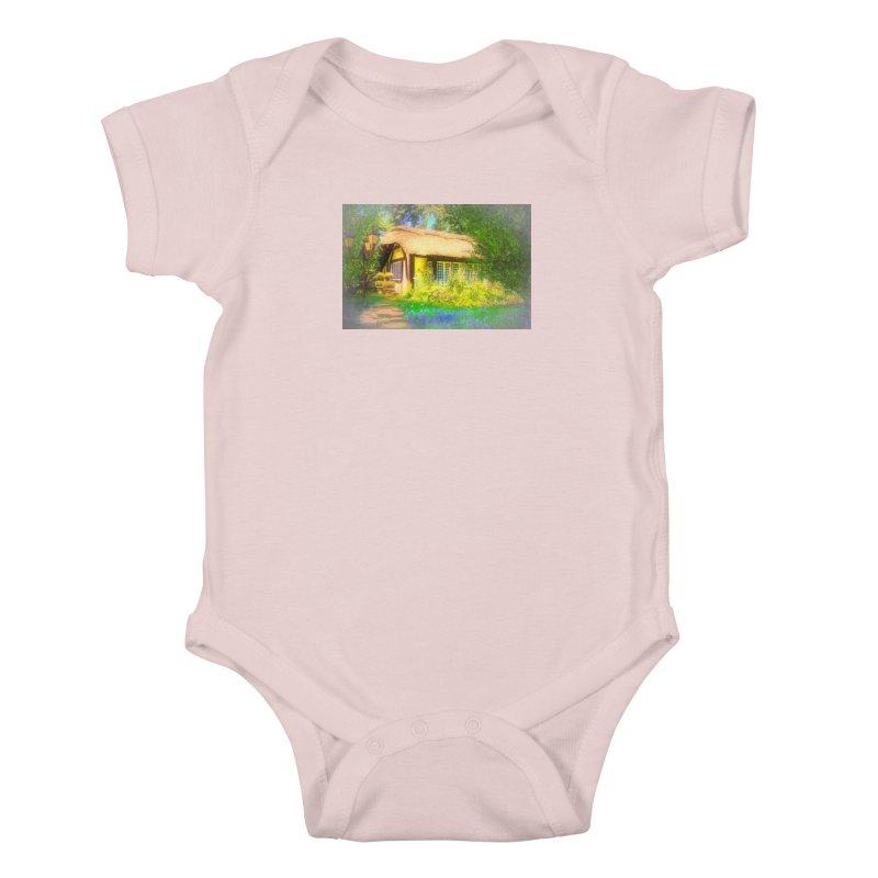 The Cottage Kids Baby Bodysuit by Jasmina Seidl's Artist Shop