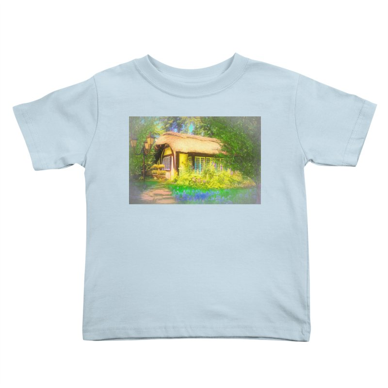 The Cottage Kids Toddler T-Shirt by Jasmina Seidl's Artist Shop