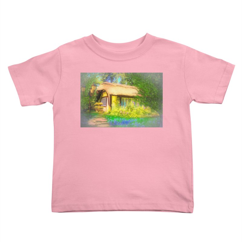 The Cottage Kids Toddler T-Shirt by Jasmina Seidl's Artist Shop