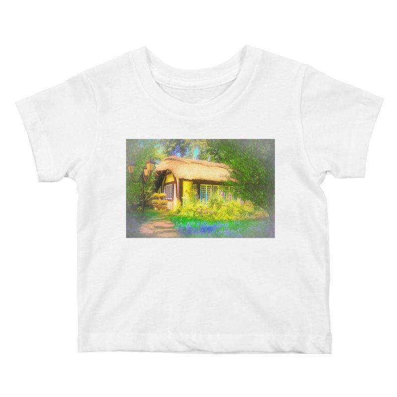 The Cottage Kids Baby T-Shirt by Jasmina Seidl's Artist Shop