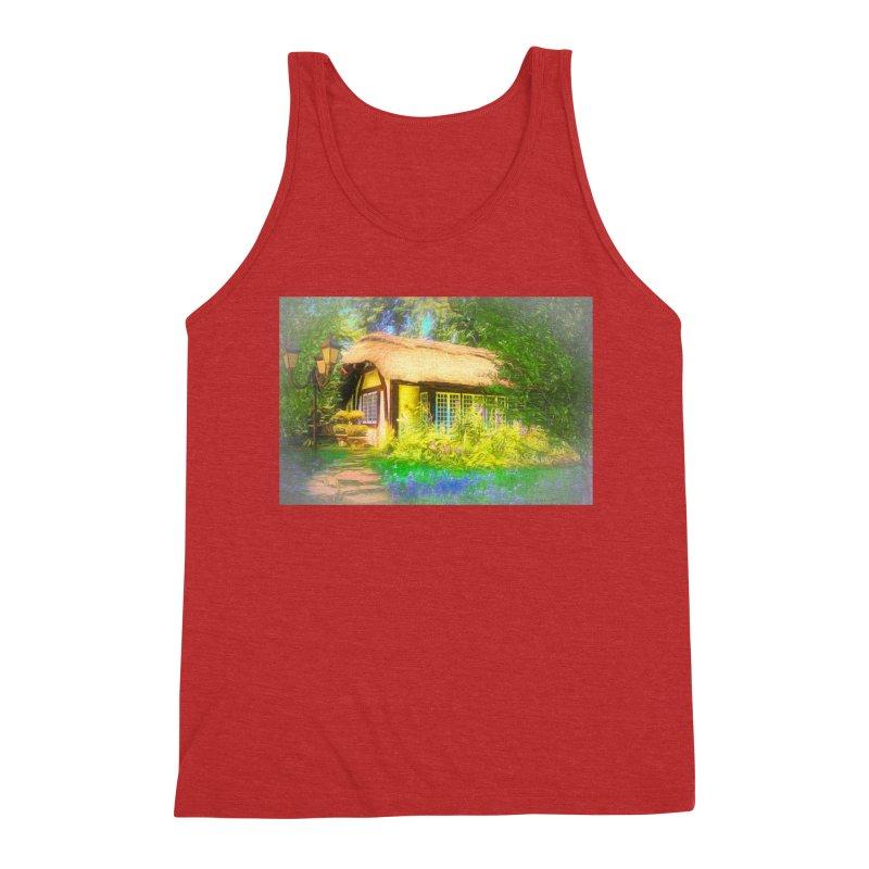 The Cottage Men's Triblend Tank by Jasmina Seidl's Artist Shop