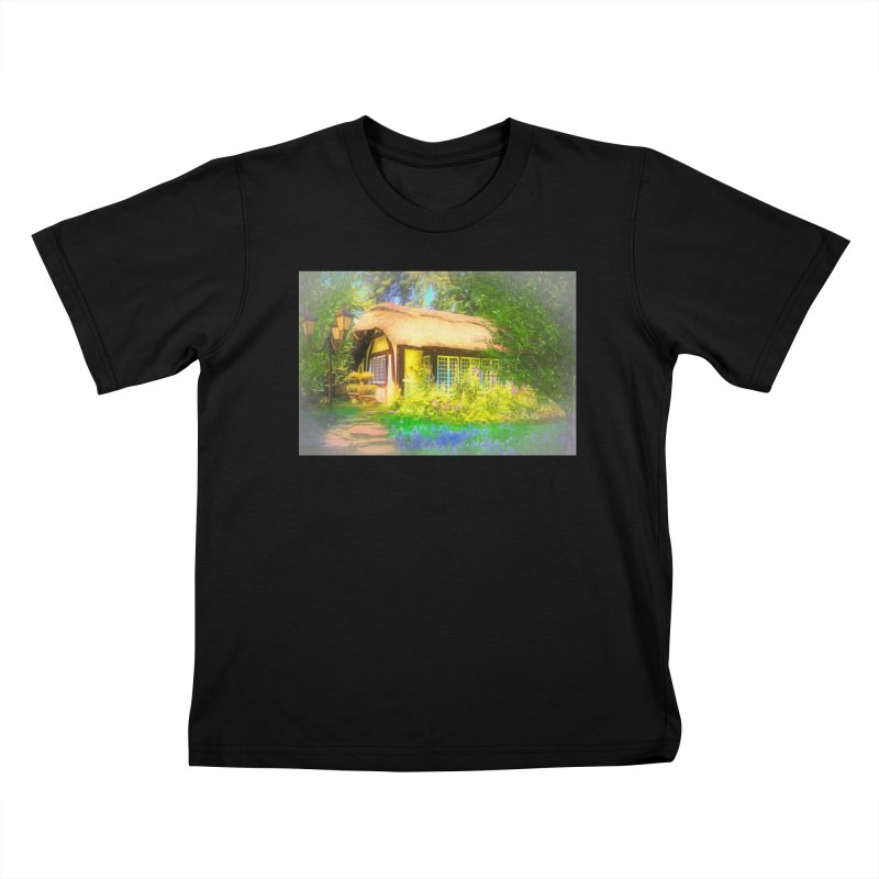 The Cottage Kids T-Shirt by Jasmina Seidl's Artist Shop