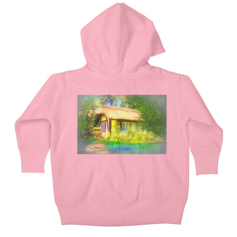 The Cottage Kids Baby Zip-Up Hoody by Jasmina Seidl's Artist Shop