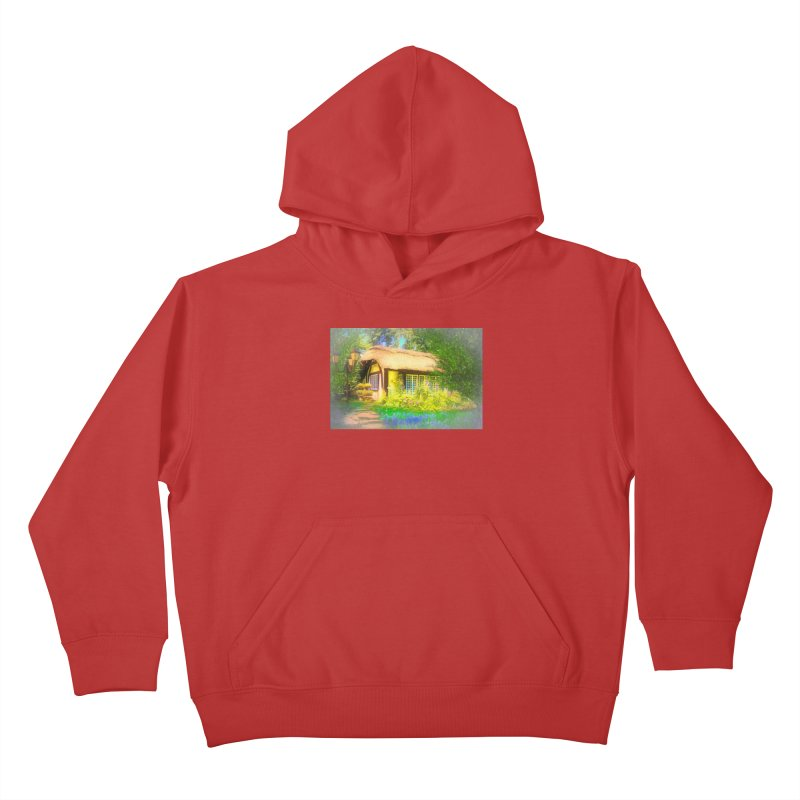 The Cottage Kids Pullover Hoody by Jasmina Seidl's Artist Shop