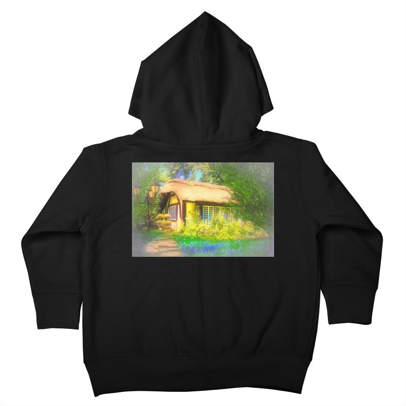 The Cottage Kids Toddler Zip-Up Hoody by Jasmina Seidl's Artist Shop