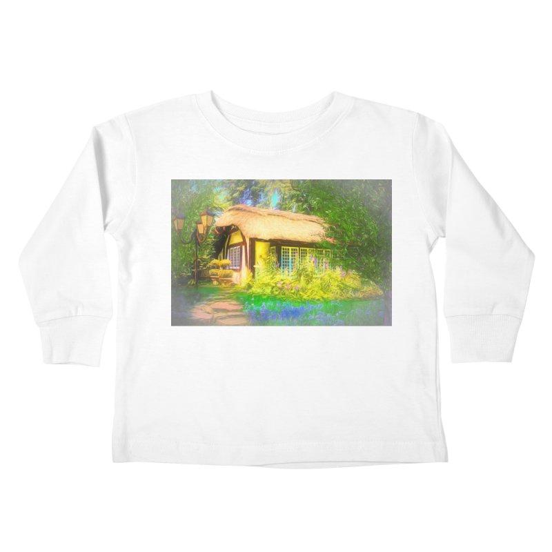 The Cottage Kids Toddler Longsleeve T-Shirt by Jasmina Seidl's Artist Shop