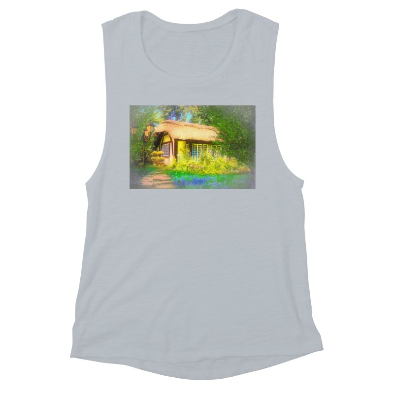 The Cottage Women's Muscle Tank by Jasmina Seidl's Artist Shop