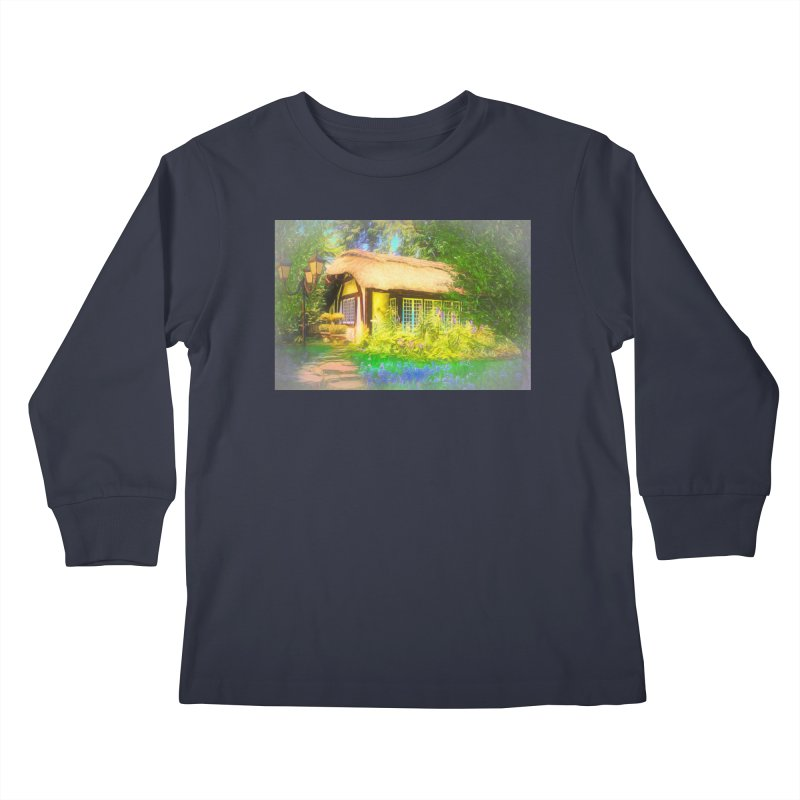 The Cottage Kids Longsleeve T-Shirt by Jasmina Seidl's Artist Shop