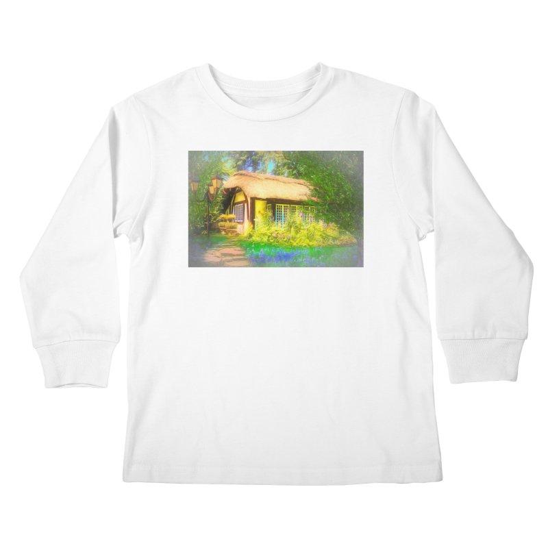 The Cottage Kids Longsleeve T-Shirt by Jasmina Seidl's Artist Shop