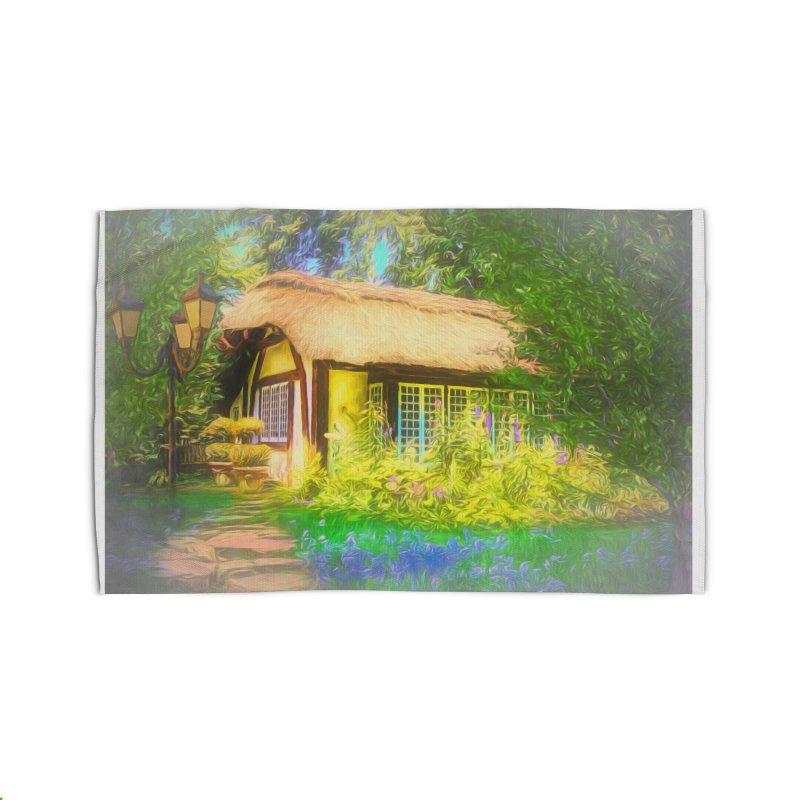 The Cottage Home Rug by Jasmina Seidl's Artist Shop