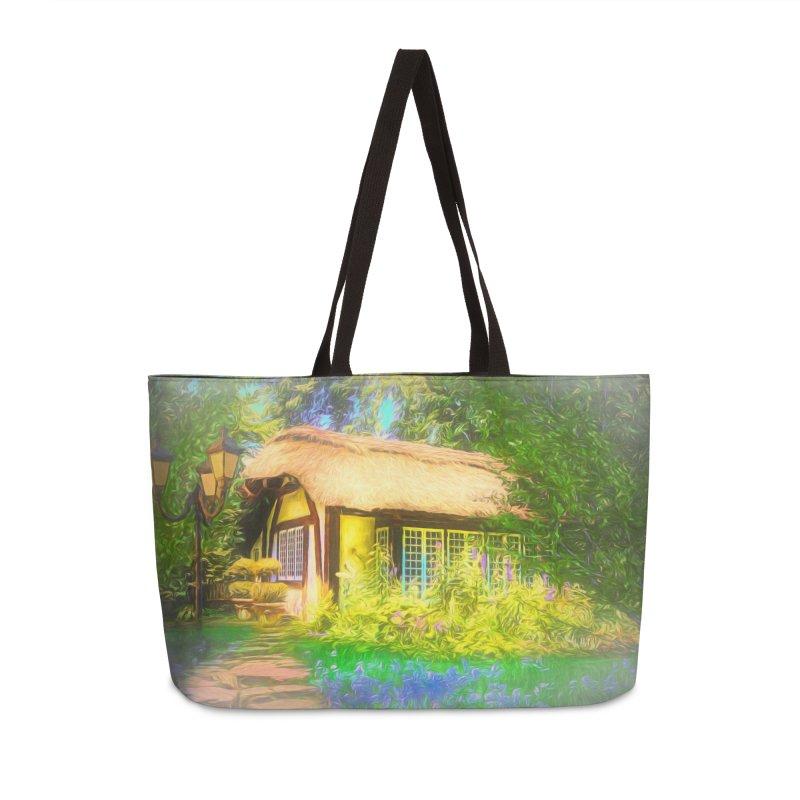 The Cottage Accessories Weekender Bag Bag by Jasmina Seidl's Artist Shop