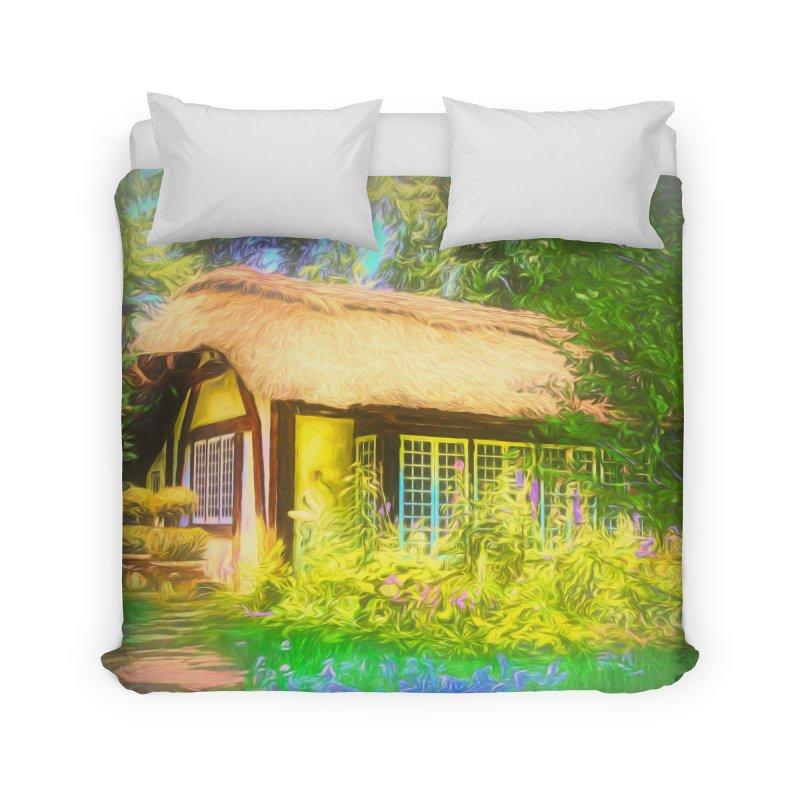 The Cottage Home Duvet by Jasmina Seidl's Artist Shop