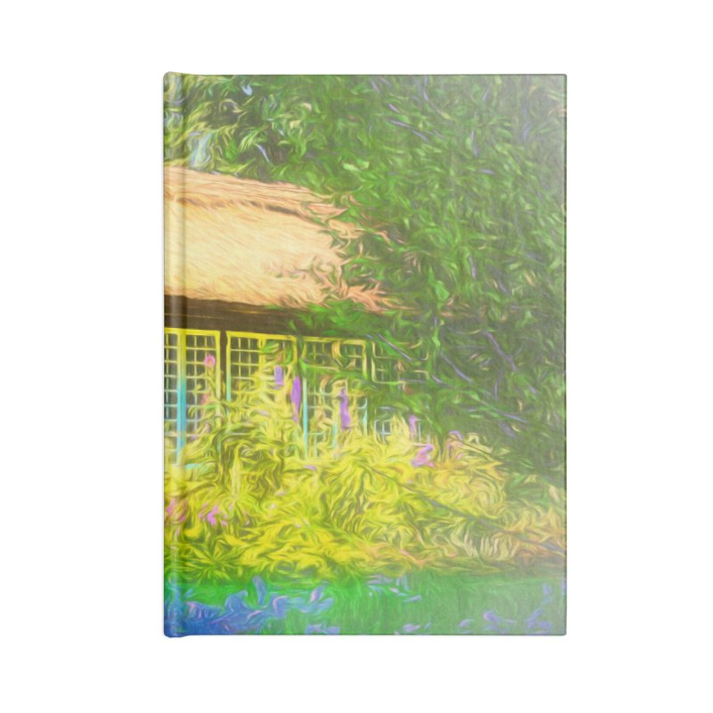 The Cottage Accessories Lined Journal Notebook by Jasmina Seidl's Artist Shop