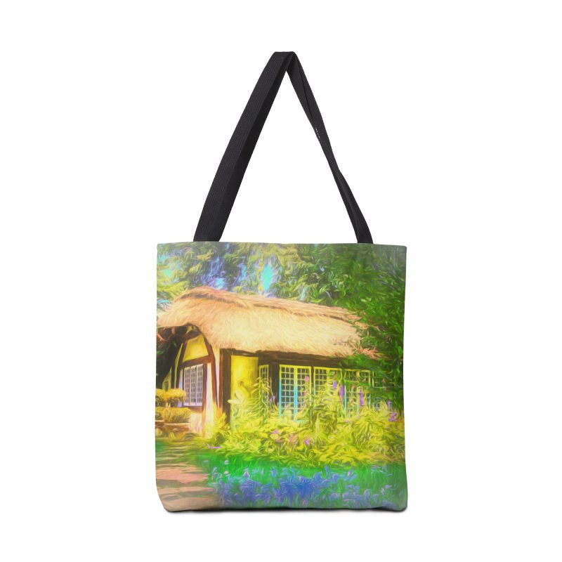 The Cottage Accessories Tote Bag Bag by Jasmina Seidl's Artist Shop
