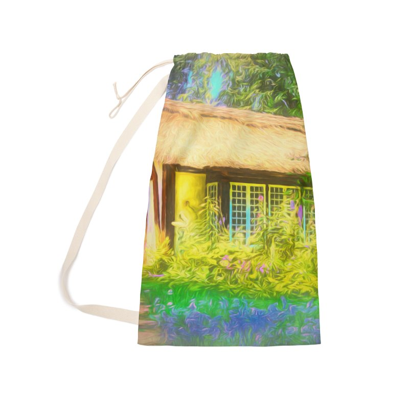 The Cottage Accessories Laundry Bag Bag by Jasmina Seidl's Artist Shop