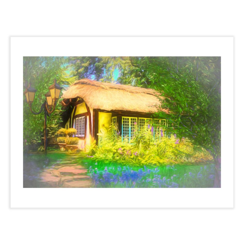 The Cottage Home Fine Art Print by Jasmina Seidl's Artist Shop
