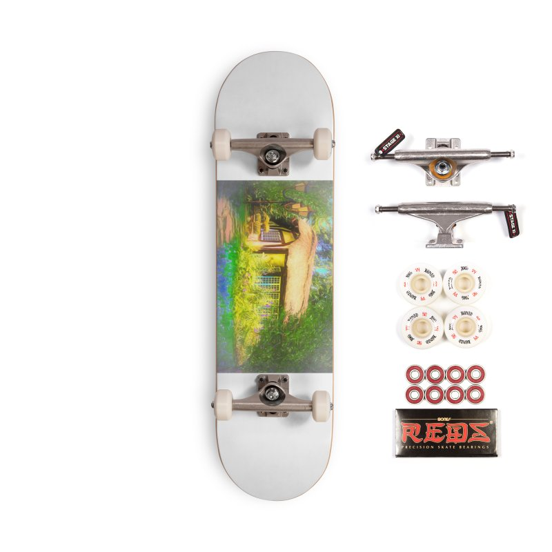 The Cottage Accessories Complete - Pro Skateboard by Jasmina Seidl's Artist Shop