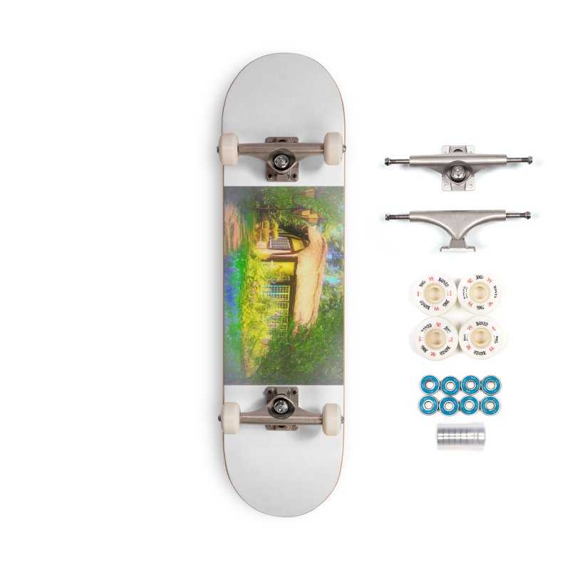 The Cottage Accessories Complete - Premium Skateboard by Jasmina Seidl's Artist Shop
