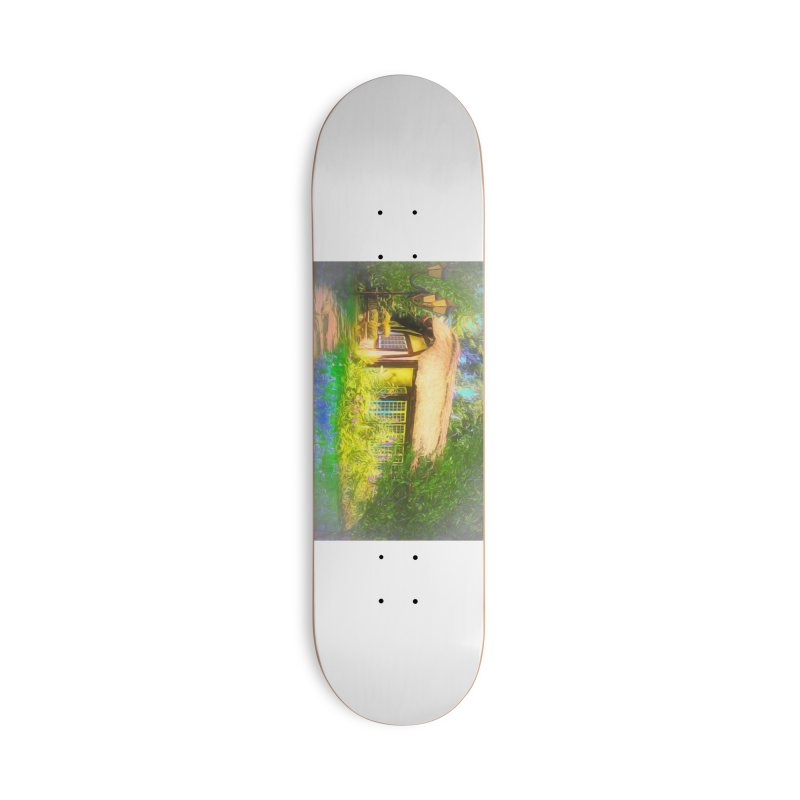 The Cottage Accessories Deck Only Skateboard by Jasmina Seidl's Artist Shop