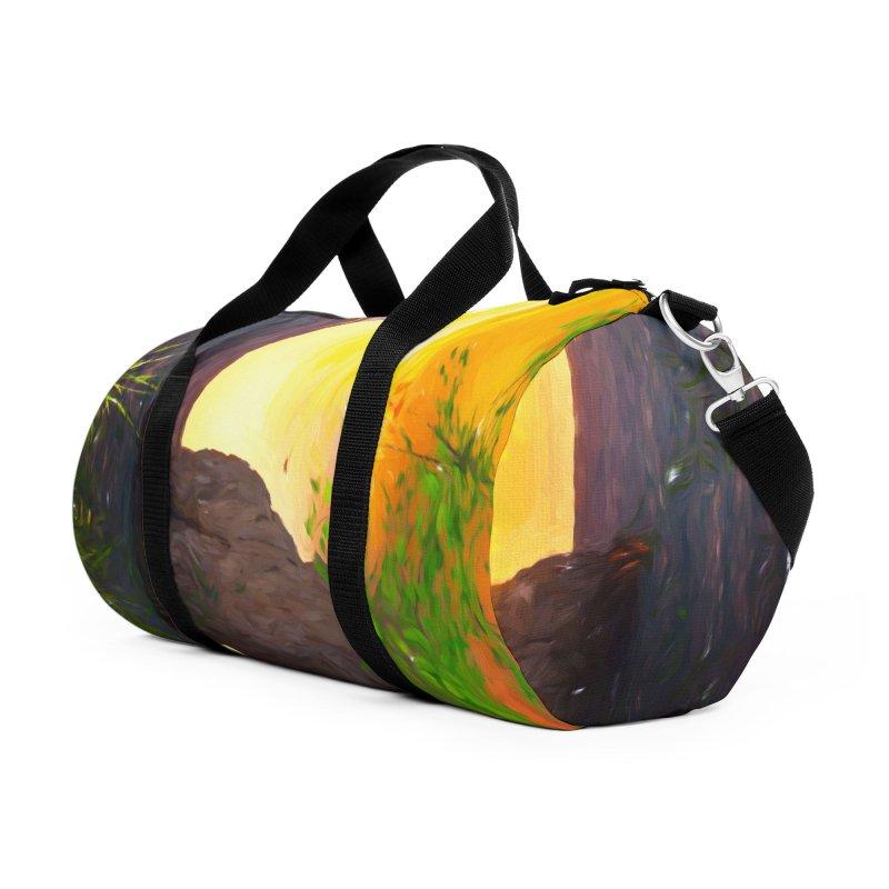 Sunset Dream Accessories Duffel Bag Bag by Jasmina Seidl's Artist Shop