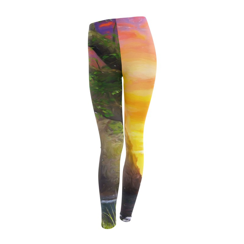 Sunset Dream Women's Leggings Bottoms by Jasmina Seidl's Artist Shop