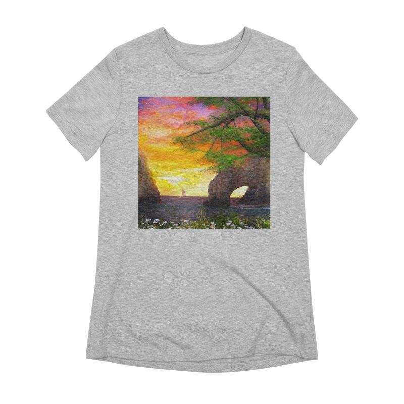 Sunset Dream Women's Extra Soft T-Shirt by Jasmina Seidl's Artist Shop