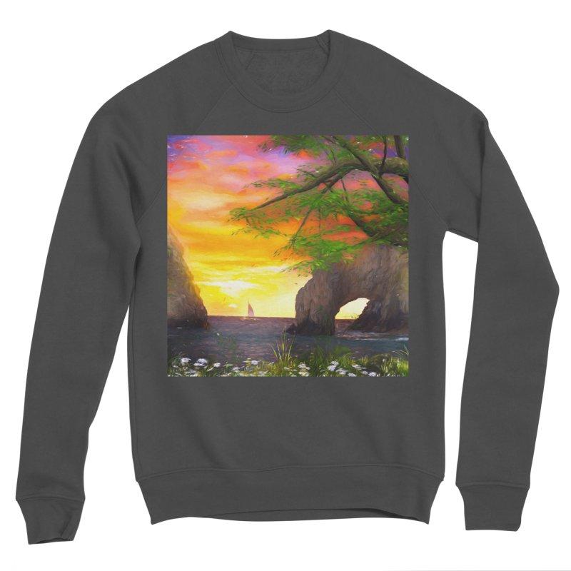 Sunset Dream Women's Sponge Fleece Sweatshirt by Jasmina Seidl's Artist Shop