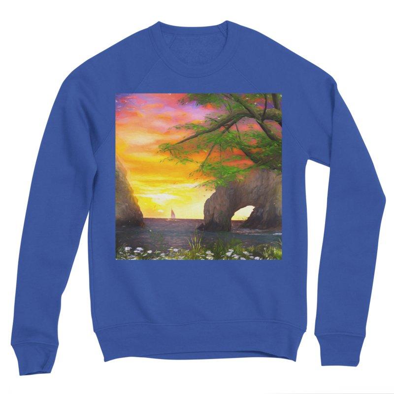 Sunset Dream Men's Sponge Fleece Sweatshirt by Jasmina Seidl's Artist Shop