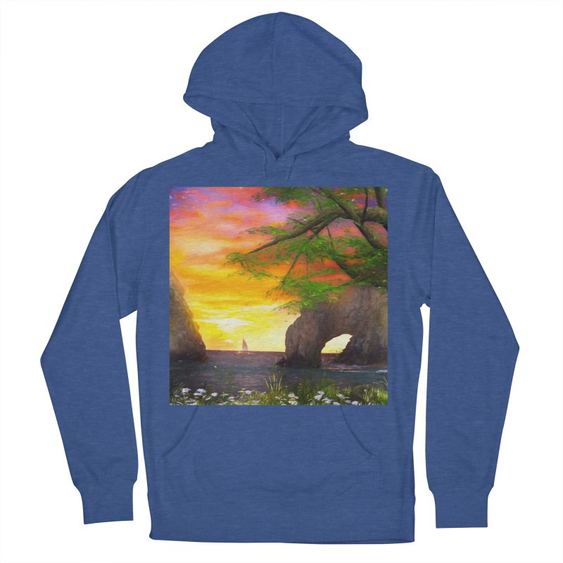 Sunset Dream Women's French Terry Pullover Hoody by Jasmina Seidl's Artist Shop