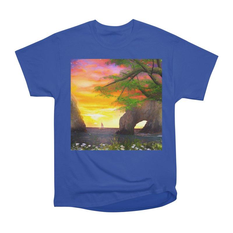 Sunset Dream Men's Heavyweight T-Shirt by Jasmina Seidl's Artist Shop