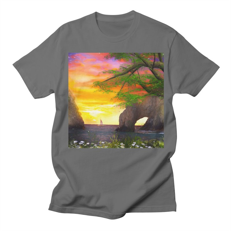 Sunset Dream Men's T-Shirt by Jasmina Seidl's Artist Shop
