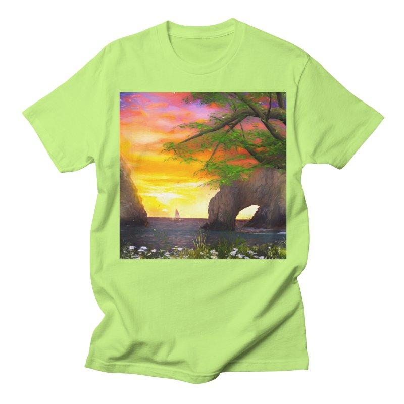 Sunset Dream Women's Regular Unisex T-Shirt by Jasmina Seidl's Artist Shop