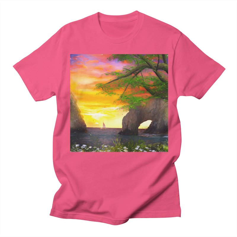 Sunset Dream Women's Regular Unisex T-Shirt by Jasmina Seidl's Artist Shop