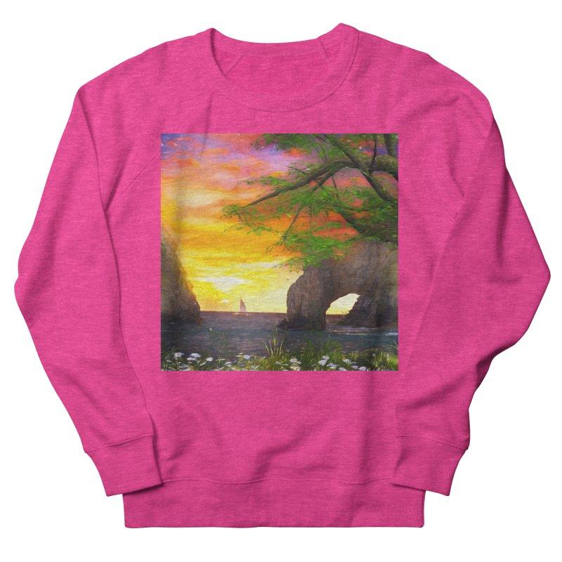 Sunset Dream Women's French Terry Sweatshirt by Jasmina Seidl's Artist Shop